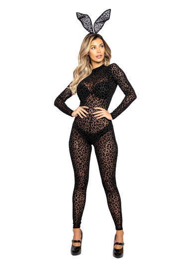 Exotic Leopard Bunny Costume