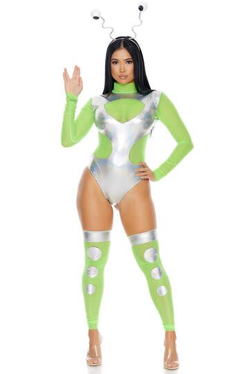 Outer Space Alien Costume