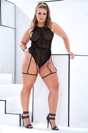 Plus Size Sexy Expressions Bodysuit