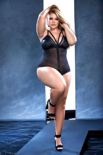 Plus Size Essential Love Bodysuit