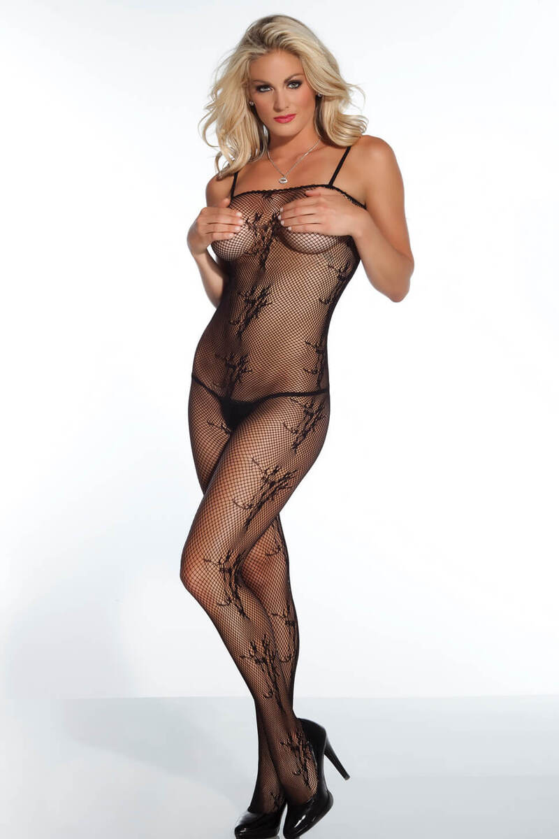 Flirty Fishnet Bodystocking