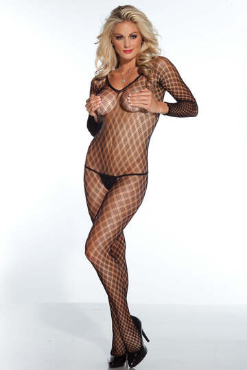 Multi Fence Bodystocking
