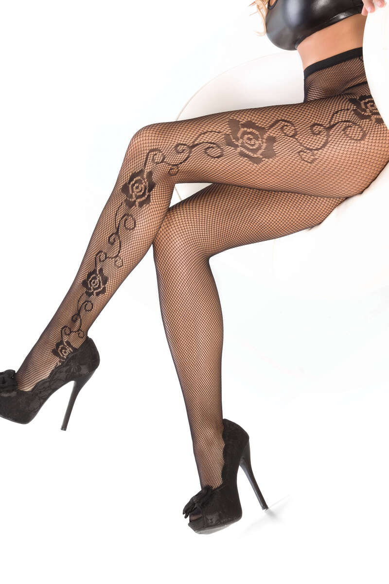 Rose Pantyhose